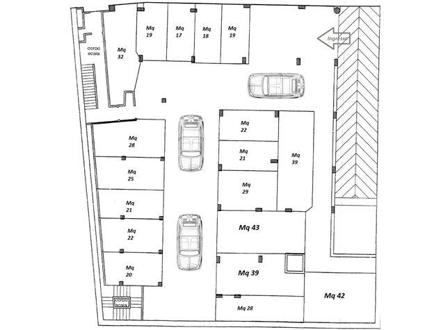 Nettuno (RM), Posto Auto, via passamonti , 1