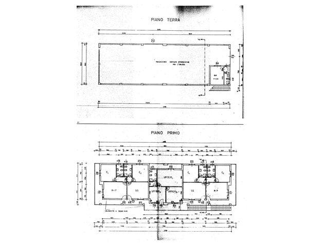 Capannone in vendita a borgo ticino 318 m 0 for Planimetrie personalizzate