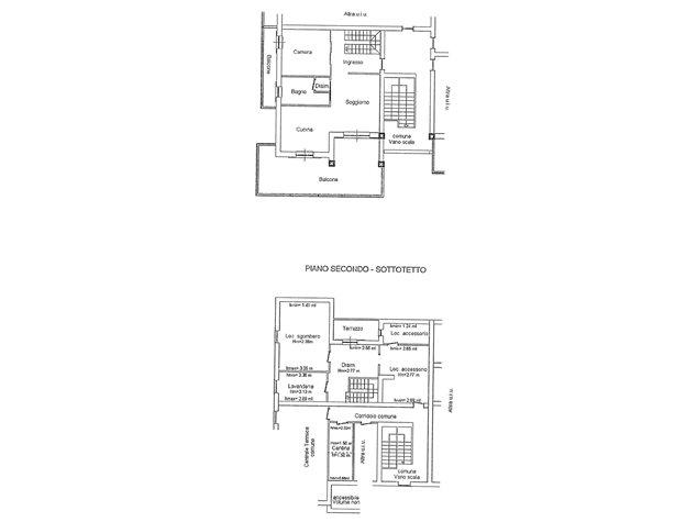 floorplans Vermezzo (MI), Appartamento, VIA CARDUCCI, 36