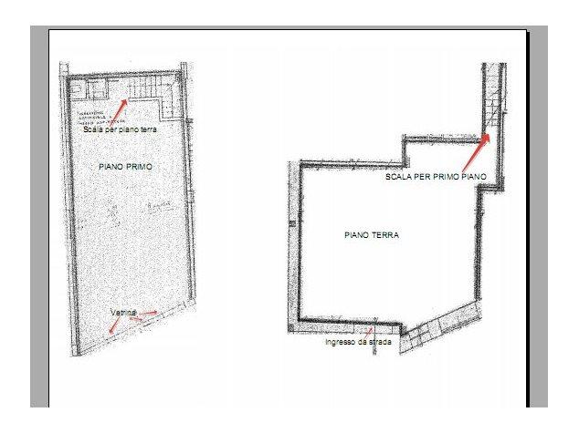 floorplans Roma (RM), Negozio, Via a. Serra