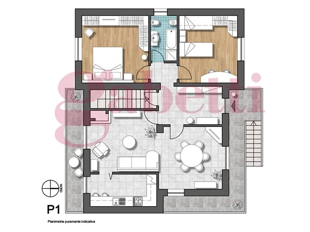floorplans Limbiate: Villa singola in Vendita, Viale Lombardia, 12, immagine 1