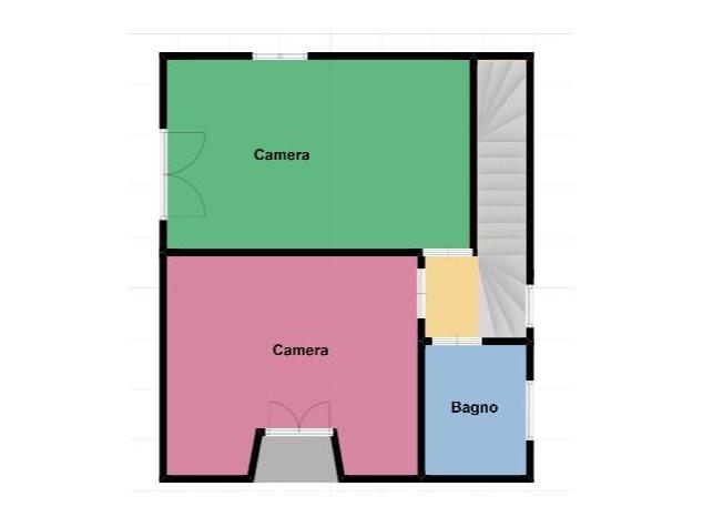 floorplans Lentate sul Seveso: Villa a schiera in Vendita, Via Beato Angelico, 2, immagine 3