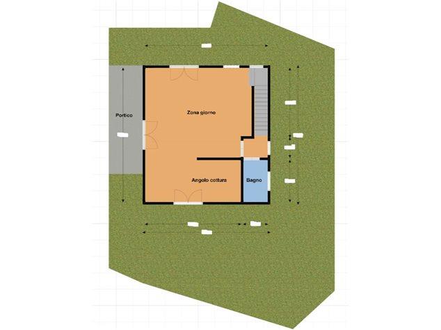 floorplans Lentate sul Seveso: Villa a schiera in Vendita, Via Beato Angelico, 2, immagine 1