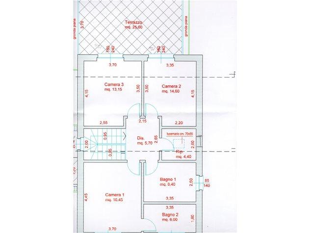 floorplans Cantù (CO), Villa singola