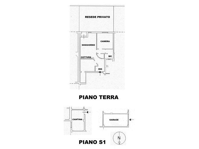 floorplans Sovicille: Appartamento in Vendita, , immagine 1