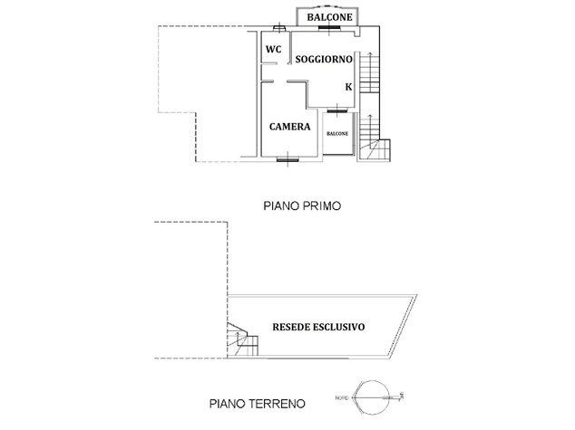 floorplans Murlo: Appartamento in Vendita, , immagine 1