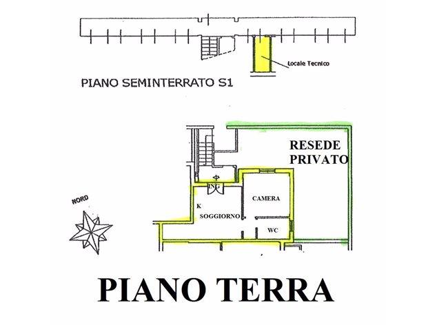 floorplans Sovicille: Appartamento in Vendita, Via Ambrosoli, 1, immagine 1