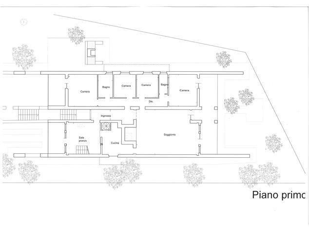 floorplans Siena: Villa in Vendita, , immagine 1