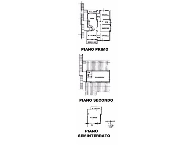 floorplans Castelnuovo Berardenga: Appartamento in Vendita, , immagine 1