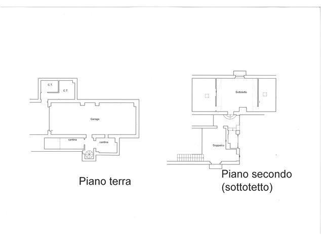 floorplans Siena: Villa in Vendita, , immagine 2