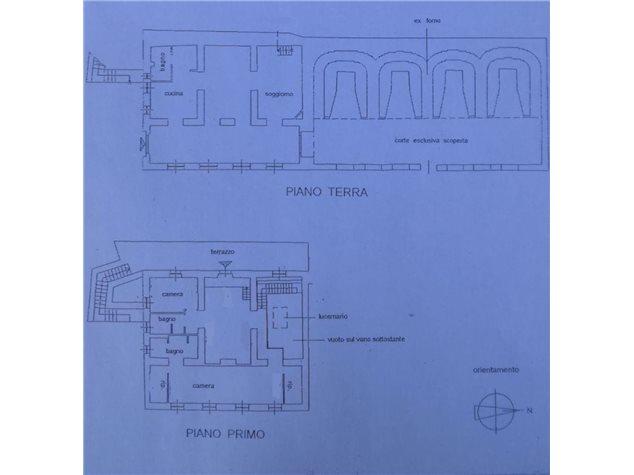 floorplans Murlo: Rustico in Vendita, , immagine 1
