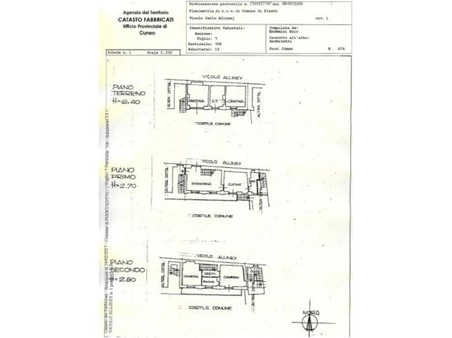 floorplans Piasco: Casa Indipendente in Vendita, Via Lanza , 1, immagine 1