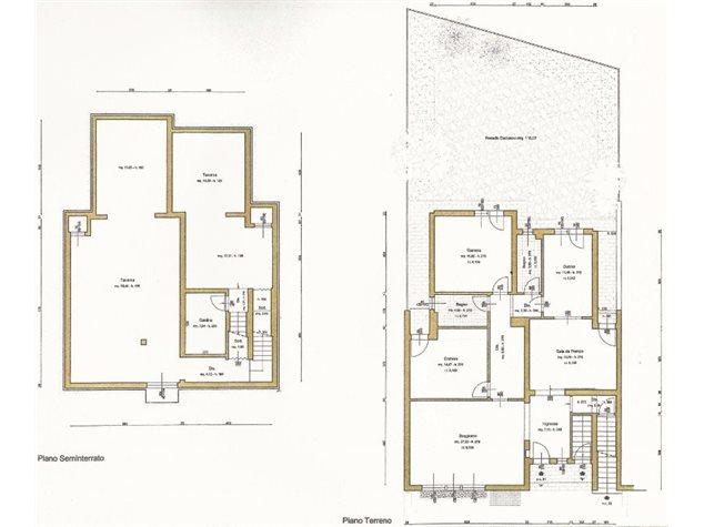 floorplans Sesto Fiorentino: Villa bifamiliare in Vendita, , immagine 2