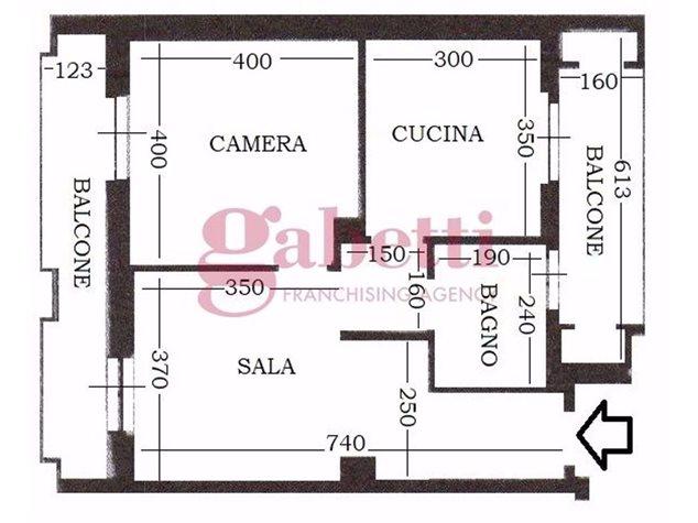 floorplans Torino: Appartamento in Vendita, Corso Lepanto , 12, immagine 1