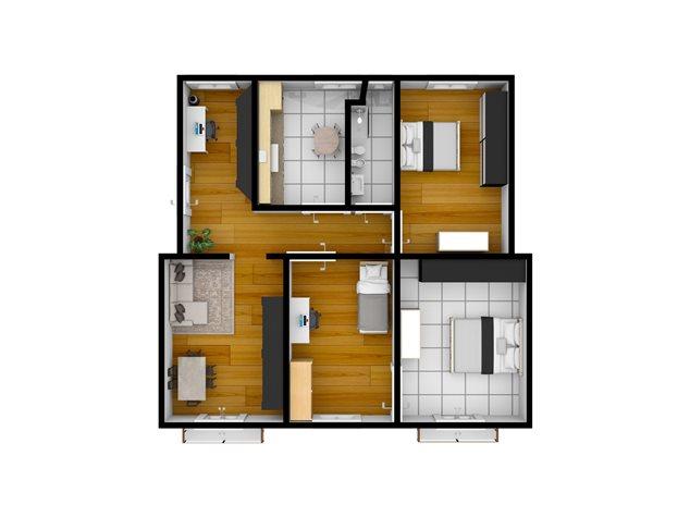 floorplans Napoli: Appartamento in Vendita, Piazza Garibaldi, 118, immagine 3