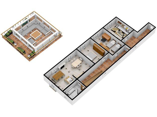 floorplans Napoli: Appartamento in Vendita, Via Dei Tribunali, 362, immagine 8