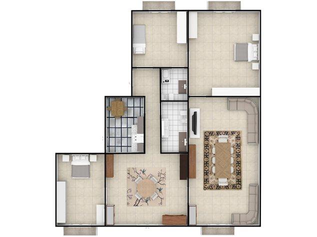 floorplans Napoli: Appartamento in Vendita, Via Settembrini , 61, immagine 8