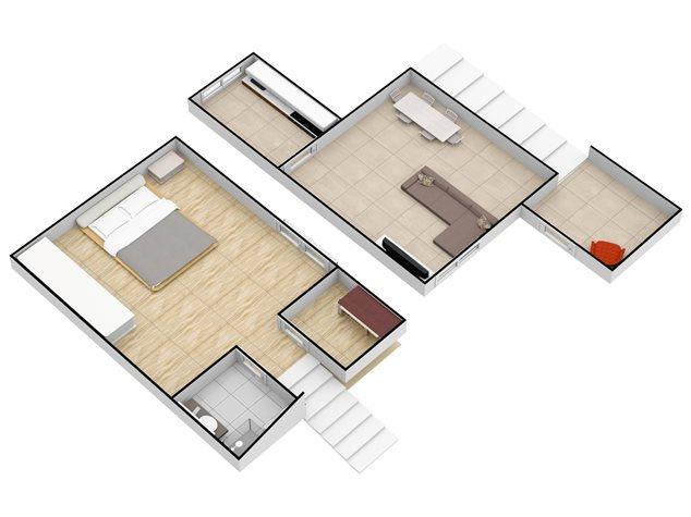 floorplans Napoli: Appartamento in Vendita, Via Santa Maria La Nova , 32, immagine 3