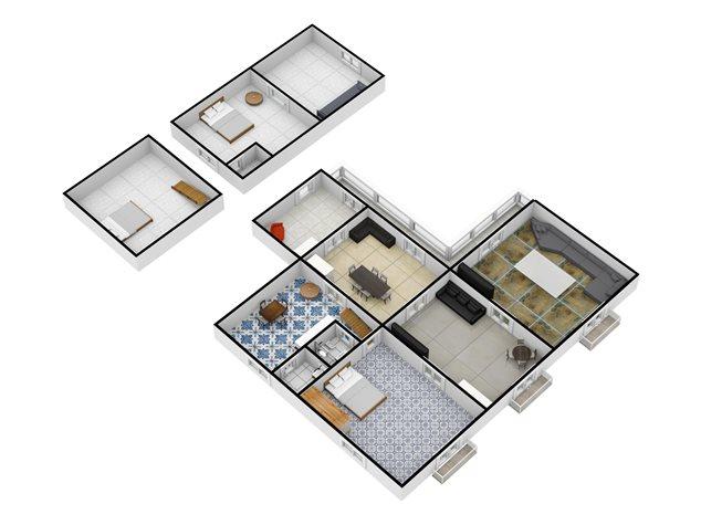 floorplans Napoli: Appartamento in Vendita, Via Salvatore Tommasi , 62, immagine 6