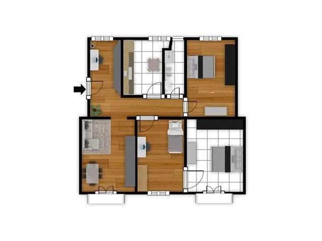 floorplans Napoli: Appartamento in Vendita, Piazza Garibaldi, 118, immagine 6