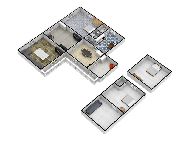 floorplans Napoli: Appartamento in Vendita, Via Salvatore Tommasi , 62, immagine 3