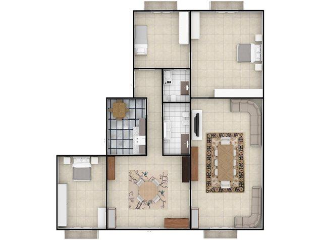 floorplans Napoli: Appartamento in Vendita, Via Settembrini , 61, immagine 3
