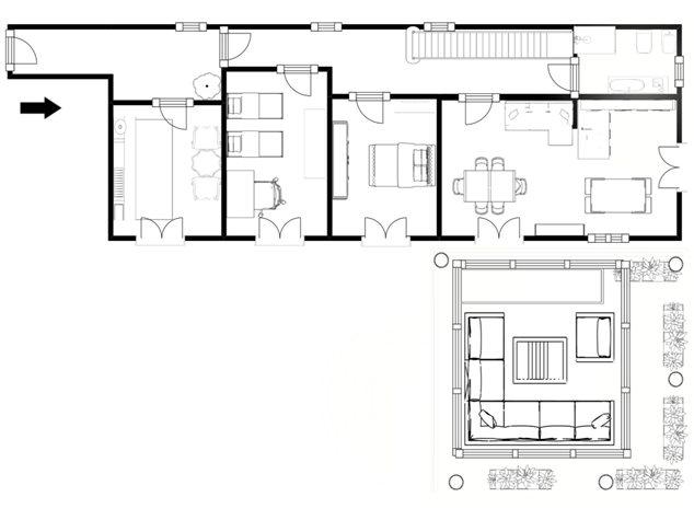 floorplans Napoli: Appartamento in Vendita, Via Dei Tribunali, 362, immagine 9