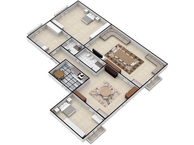 floorplans Napoli: Appartamento in Vendita, Via Settembrini , 61, immagine 5