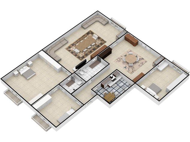 floorplans Napoli: Appartamento in Vendita, Via Settembrini , 61, immagine 6