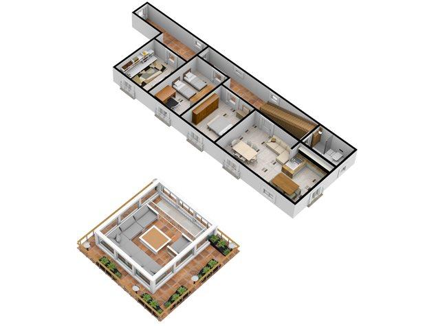 floorplans Napoli: Appartamento in Vendita, Via Dei Tribunali, 362, immagine 6