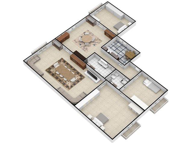 floorplans Napoli: Appartamento in Vendita, Via Settembrini , 61, immagine 4