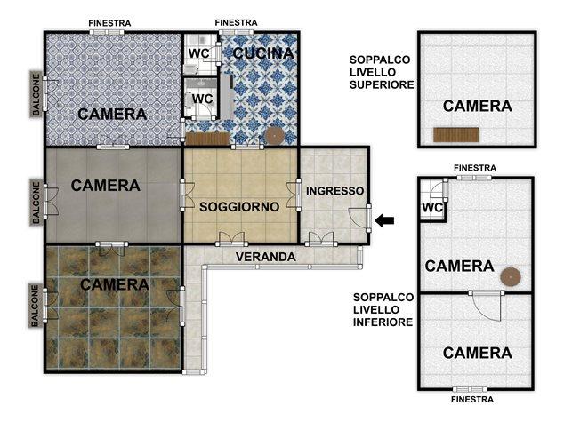 floorplans Napoli: Appartamento in Vendita, Via Salvatore Tommasi , 62, immagine 7