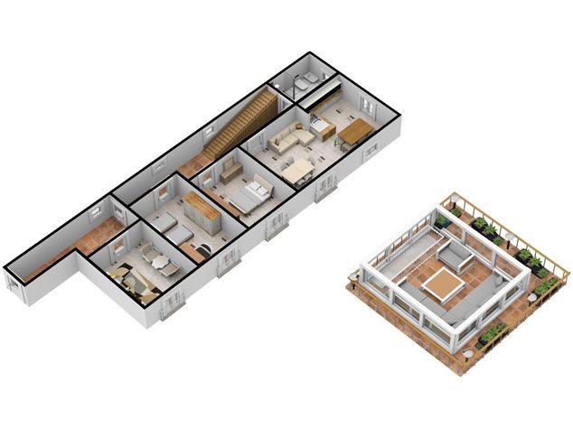 floorplans Napoli: Appartamento in Vendita, Via Dei Tribunali, 362, immagine 5