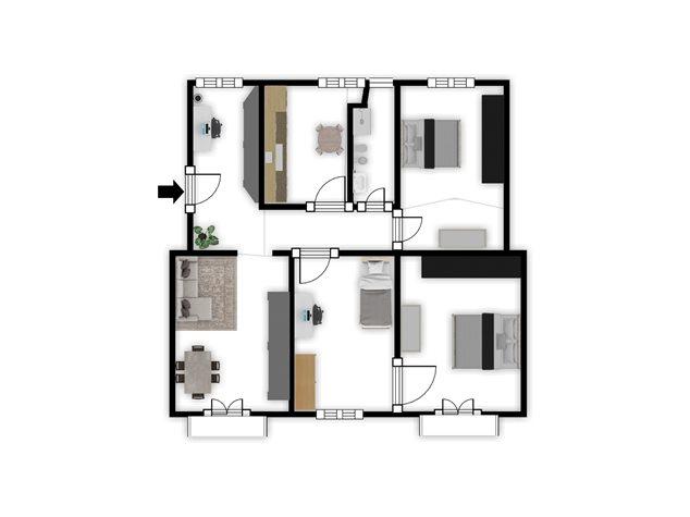 floorplans Napoli: Appartamento in Vendita, Piazza Garibaldi, 118, immagine 9