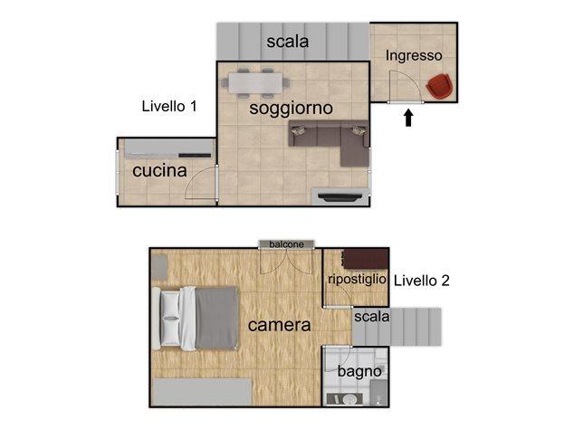 floorplans Napoli: Appartamento in Vendita, Via Santa Maria La Nova , 32, immagine 1