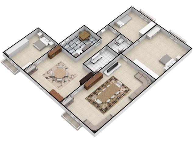 floorplans Napoli: Appartamento in Vendita, Via Settembrini , 61, immagine 7