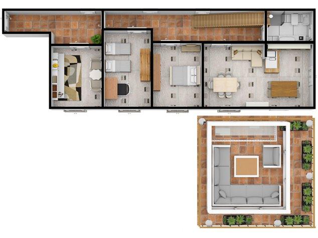 floorplans Napoli: Appartamento in Vendita, Via Dei Tribunali, 362, immagine 3
