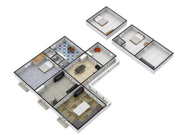 floorplans Napoli: Appartamento in Vendita, Via Salvatore Tommasi , 62, immagine 5