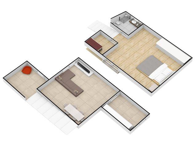 floorplans Napoli: Appartamento in Vendita, Via Santa Maria La Nova , 32, immagine 7