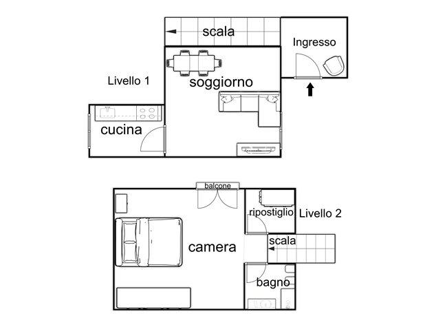 floorplans Napoli: Appartamento in Vendita, Via Santa Maria La Nova , 32, immagine 5