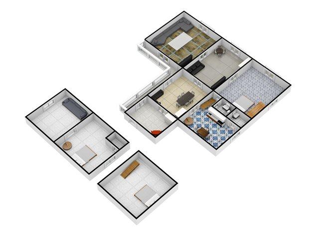 floorplans Napoli: Appartamento in Vendita, Via Salvatore Tommasi , 62, immagine 4