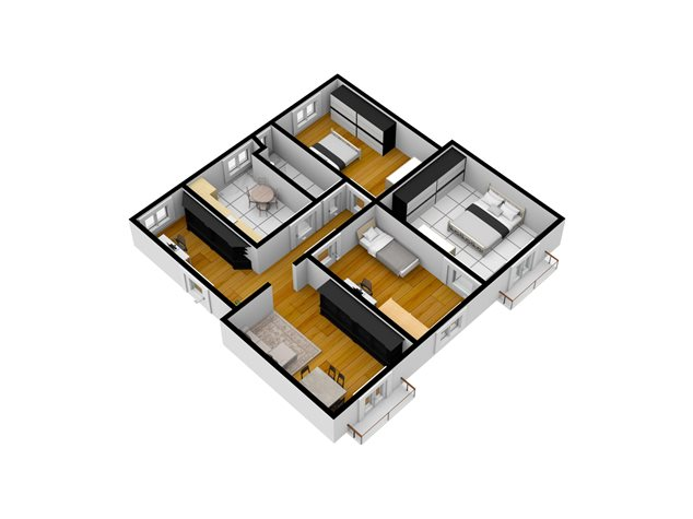 floorplans Napoli: Appartamento in Vendita, Piazza Garibaldi, 118, immagine 5
