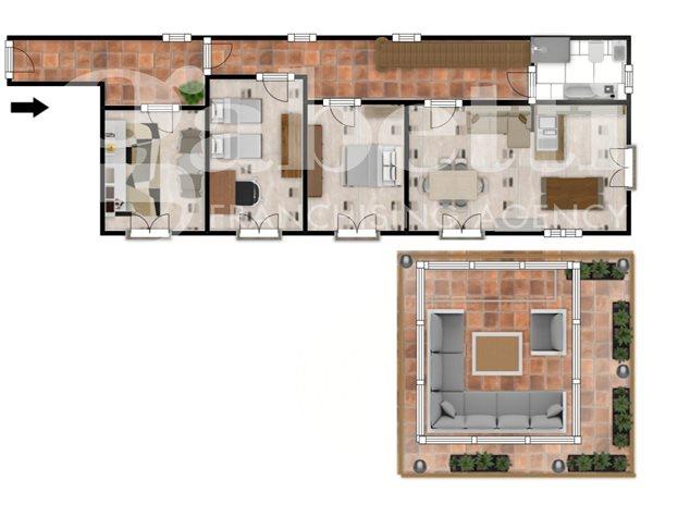 floorplans Napoli: Appartamento in Vendita, Via Dei Tribunali, 362, immagine 1