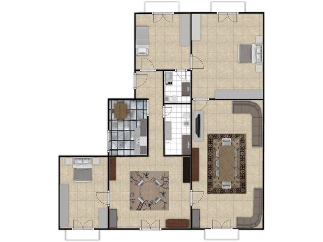floorplans Napoli: Appartamento in Vendita, Via Settembrini , 61, immagine 9