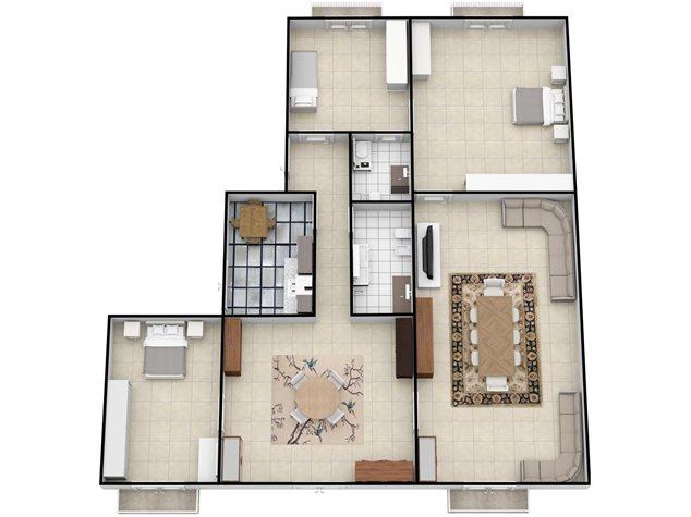 floorplans Napoli: Appartamento in Vendita, Via Settembrini , 61, immagine 2