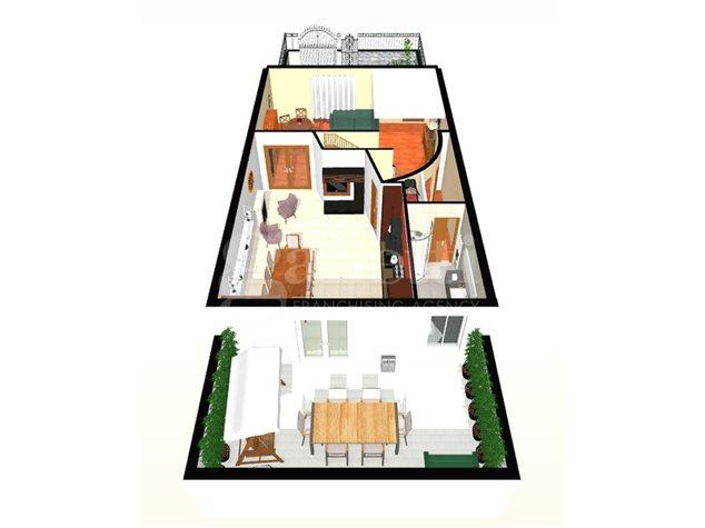 floorplans Arzano: Villa a schiera in Vendita, , immagine 5