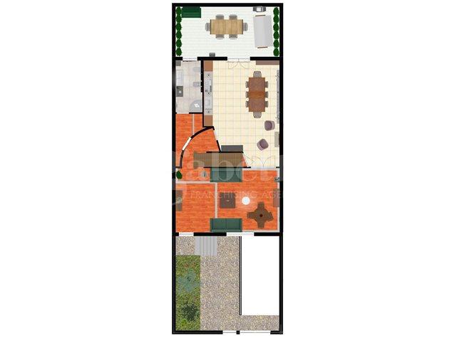 floorplans Arzano: Villa a schiera in Vendita, , immagine 1