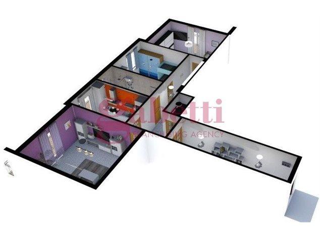 floorplans Arzano: Appartamento in Vendita, Via Saviano, immagine 6