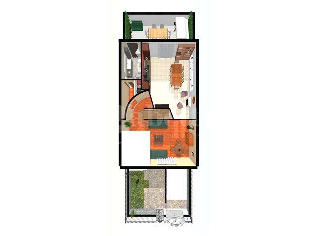 floorplans Arzano: Villa a schiera in Vendita, , immagine 2
