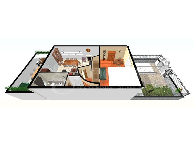 floorplans Arzano: Villa a schiera in Vendita, , immagine 6